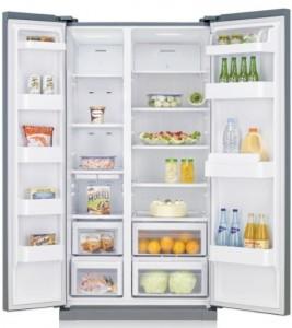 Le réfrigérateur congélateur side-by-side NoFrost